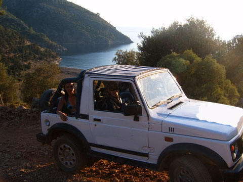 Antalya Side Jeep Safari